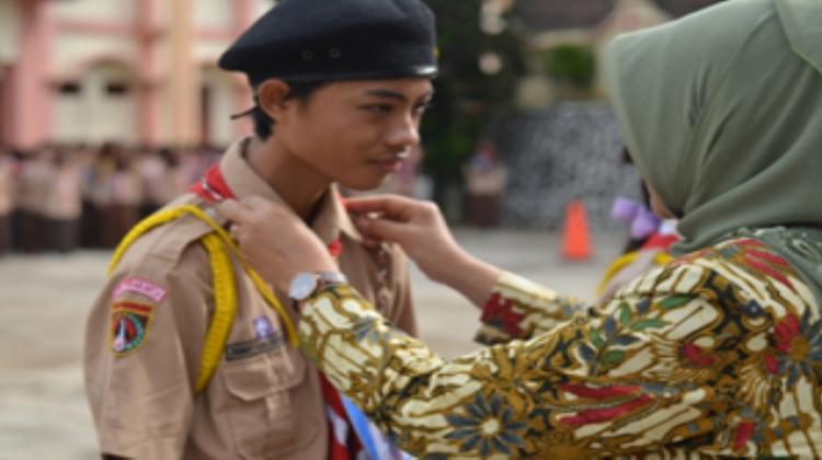 PEMBUKAAN KEMAH BHAKTI SMA DELTA TAHUN 2016