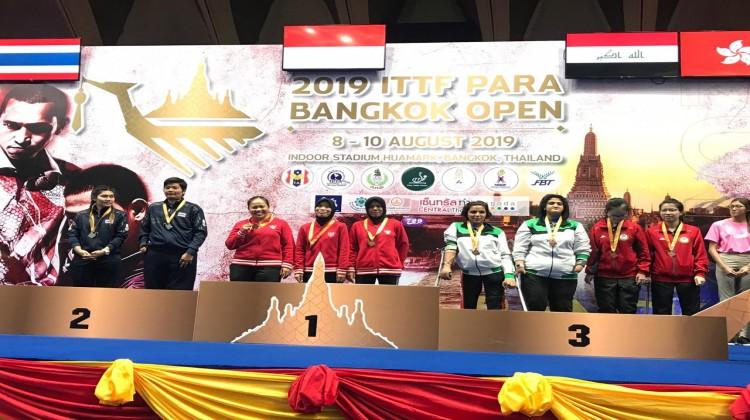 SISWA DELTA PERAIH EMAS DI ITTF PARA BANGKOK OPEN 2019